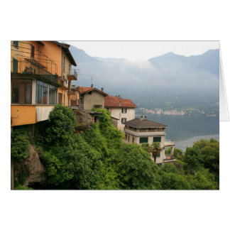 Overlooking Lake Como Card