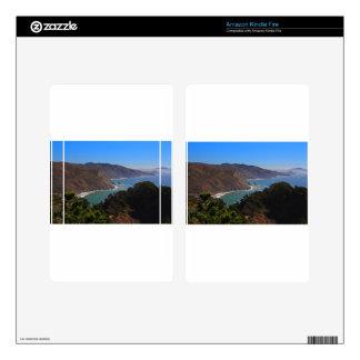Overlooking Marin Headlands Skin For Kindle Fire