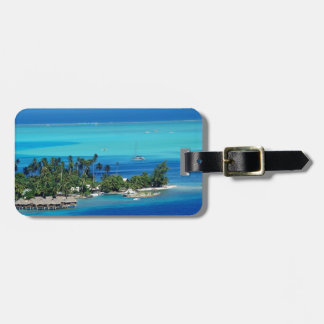 Overlooking Paradise Luggage Tag