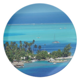 Overlooking Paradise Dinner Plate