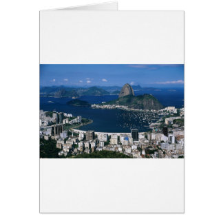 Overlooking Rio Card