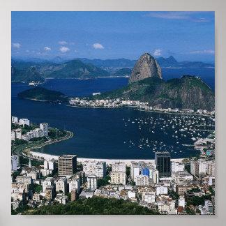 Overlooking Rio Print