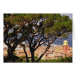 Overlooking St. Tropez Greeting Card