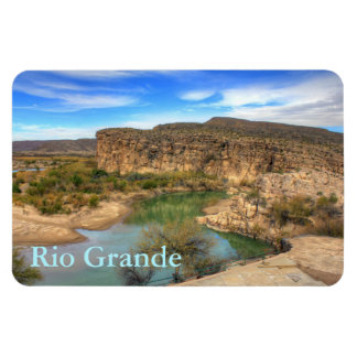 Overlooking the Rio Grande Magnet