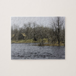 Overlooking the River Jigsaw Puzzle