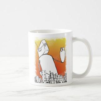 Overlord del robot taza de café
