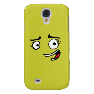 Overly Happy face Galaxy S4 Cover