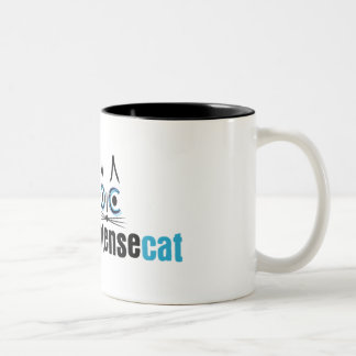 Overly Intense Cat Mug