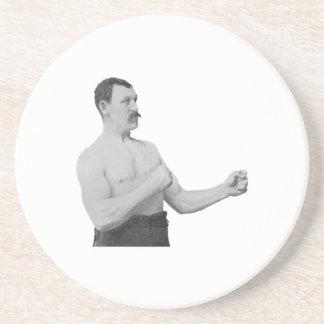 Overly Manly Man Meme Beverage Coaster