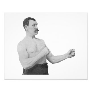Overly Manly Man Meme Flyer