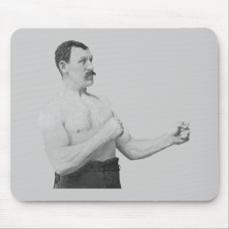 Overly Manly Man Meme Mouse Pad