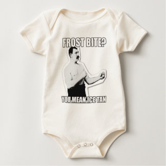 Overly Manly Man strikes again! Baby Bodysuit