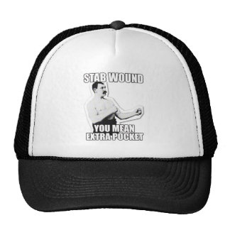 Overly Manly Man strikes again! Trucker Hat