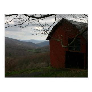 Overmountain Shelter, The Appalachian Trail Postcard