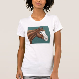 Overo Paint Horse T-shirt