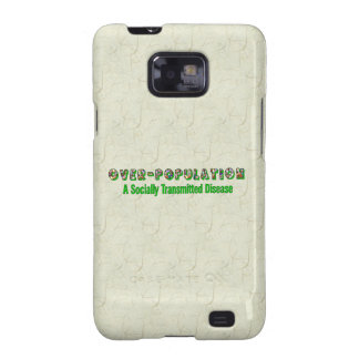 Overpopulation is an STD Samsung Galaxy S2 Cases