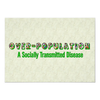 Overpopulation is an STD Invite