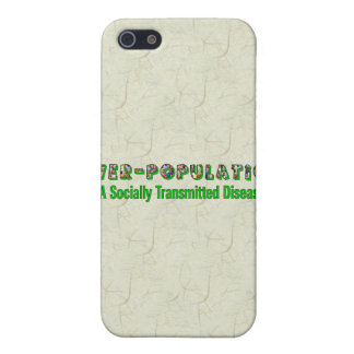 Overpopulation is an STD iPhone 5 Case