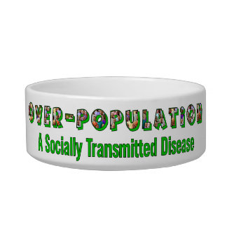 Overpopulation is an STD Cat Water Bowls
