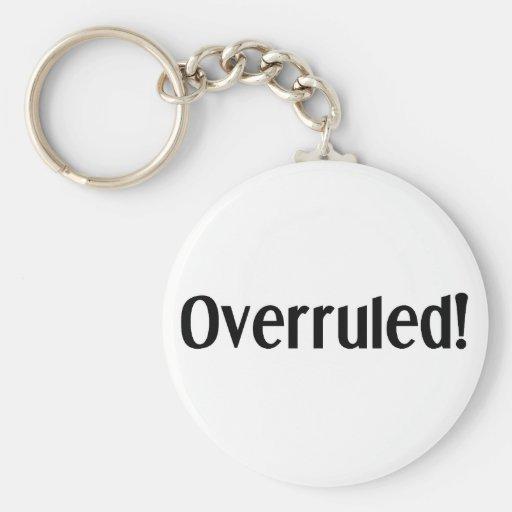 Overruled Key Chain