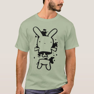 overrun bunny, cartoon style T-Shirt
