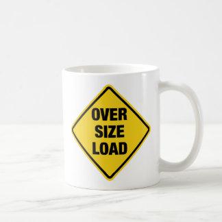 Oversize Load Classic White Coffee Mug
