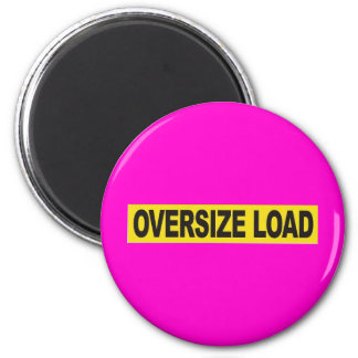 OVERSIZE LOAD GEAR 2 INCH ROUND MAGNET