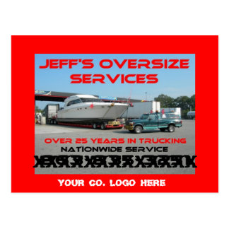 OVERSIZE LOAD GEAR/ POST CARDS