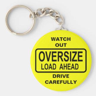 Oversize Load Keychain