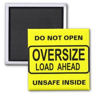 Oversize Load magnet