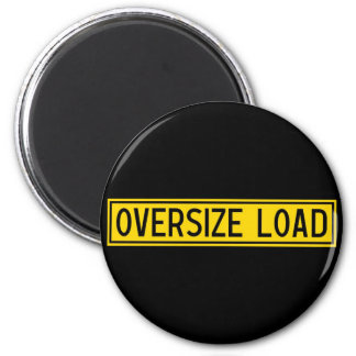 oversize load 2 inch round magnet