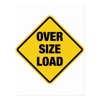 Oversize Load Postcard