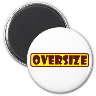 Oversize 2 Inch Round Magnet