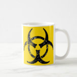 Oversized Biohazard design Classic White Coffee Mug
