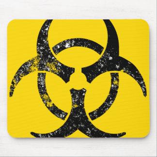 Oversized Biohazard design Mouse Pad