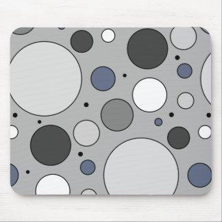 Oversized Polka Dot Pattern Mouse Pad
