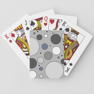 Oversized Polka Dot Pattern Playing Cards