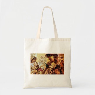 Overthrow of the Titans by Paul Rubens Tote Bags