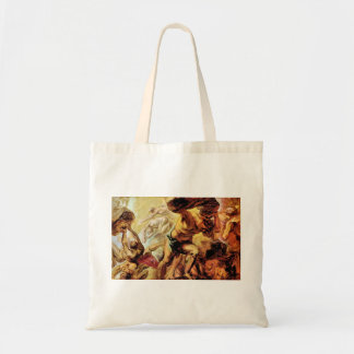 Overthrow of the Titans by Paul Rubens Canvas Bags