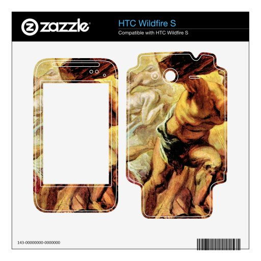 Overthrow of the Titans by Paul Rubens Skins For HTC Wildfire S