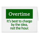 Overtime   greeting cards