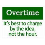Overtime   postcard