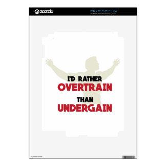 Overtrain Decals For iPad 2