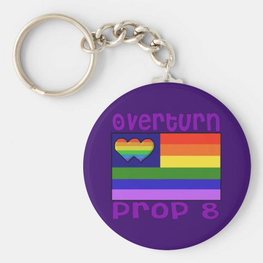Overturn Proposition 8 Key Chain