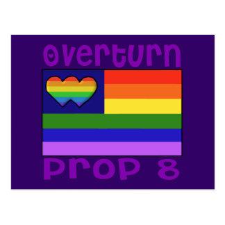 Overturn Proposition 8 Postcard