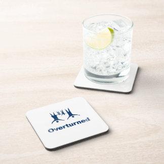 OVERTURNED - Faded.png Drink Coaster