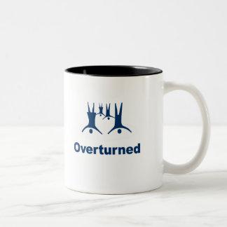 OVERTURNED (Prop 8) Coffee Mugs