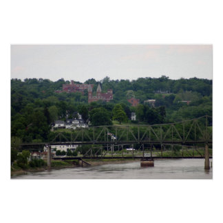 Overview of Atchison, Kansas Poster