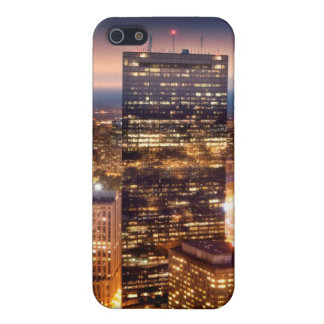 Overview of Boston at night Cover For iPhone SE/5/5s