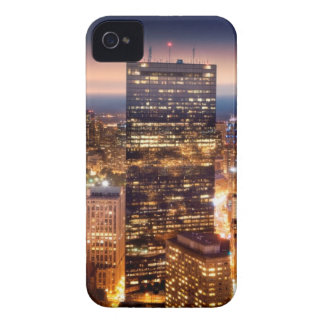 Overview of Boston at night iPhone 4 Case-Mate Case